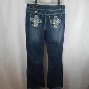 Absolutely Famous Jeans - NWT Absolutely famous Destructed Jeans size 14